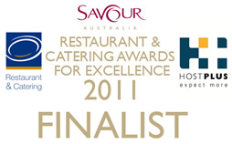 Savour Australia - Restaurant and Catering Awards For Excellence 2011 Finalist - OfficeCateringSydney.com.au